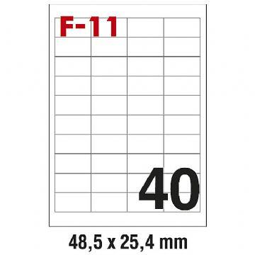 ETIKETE ILK 48,5X25,4 F-11 100/1