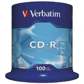 CD-R VERBATIM SPINDLE PK100