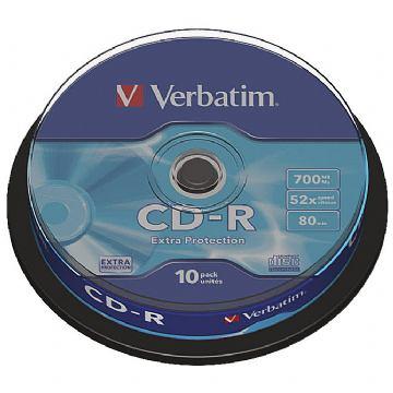 CD-R VERBATIM SPINDLE PK10