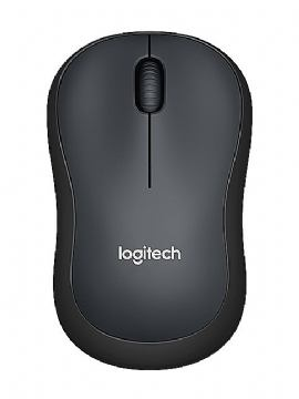 MIŠ LOGITECH M220 WIRELESS SILENT BLACK