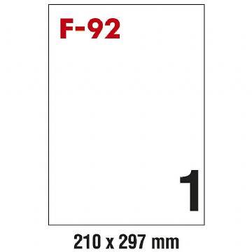 ETIKETE ILK 210X297 PK100 F-92