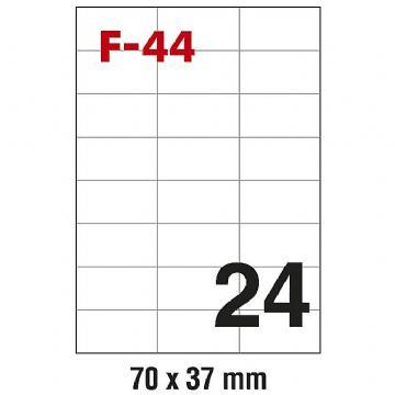ETIKETE ILK 70X37 F-44 PK100