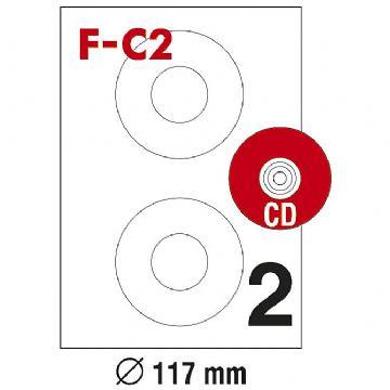 ETIKETE ILK FI117 ZA CD PK100 F-C2