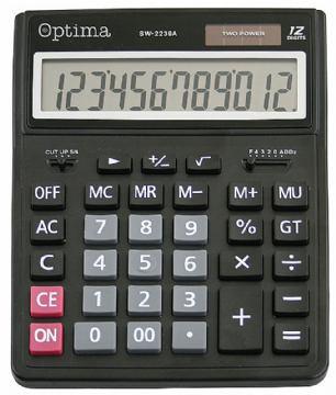 KALKULATOR OPTIMA SW-2239A VELIKI