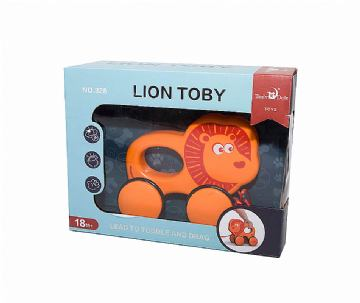 BABY ANIMAL WILD PUSH&PULL