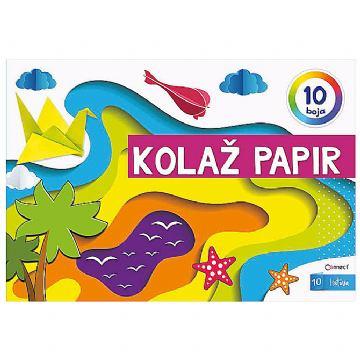 KOLAŽ PAPIR 10L A4 CONN